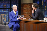 VIDEO: Famed Author Gay Talese Talks 'The Voyeur's Motel' on LATE NIGHT