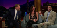 VIDEO: Juliette Lewis, Zachary Quinto Visit LATE LATE SHOW