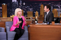VIDEO: Joanna Lumley Talks 'Absolutely Fabulous' Movie on TONIGHT SHOW