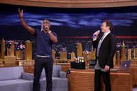 VIDEO: Idris Elba & Jimmy Fallon Face Off in Box of Microphones