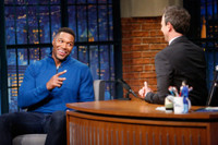 VIDEO: Michael Strahan Explains Why He Was Born to Play an Animated Bunny in ICE AGE