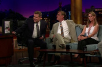 VIDEO: Aaron Sorkin & Cheryl Hines Visit LATE LATE SHOW