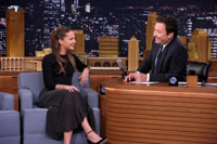 VIDEO: Alicia Vikander Teaches Jimmy Swedish Drinking Game on TONIGHT