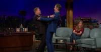 VIDEO: James Corden Calls Out Chris Pine on His Awkward Hugs