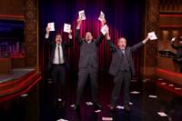 VIDEO: Penn & Teller Teach Jimmy Fallon a Card Trick to Find Love