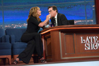 VIDEO: 'West Wing's Allison Janney Explains Why She Avoids Election Coverage on LATE SHOW