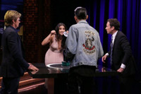 VIDEO: Denis Leary & Shay Mitchell Compete in Game of 'Catchphrase' on TONIGHT