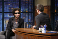VIDEO: Lenny Kravitz Talks Touring with Guns N' Roses on LATE NIGHT