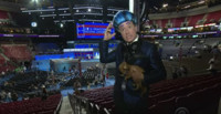 VIDEO: LATE SHOW's Hungry For Power Games Descends on the Democratic National Convention