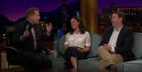 VIDEO: Tatiana Maslany & Mike Birbiglia Visit LATE LATE SHOW