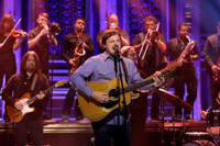 VIDEO: Sturgill Simpson Performs 'All Around You' on TONIGHT SHOW