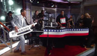 VIDEO: DMC Performs 'Walk This Way' feat. DJ Charlie Chan on LATE SHOW