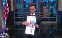 VIDEO: Stephen Colbert Recaps Day 3 of Democratic Convention on LATE SHOW