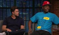 VIDEO: SNL's Colin Jost & Michael Che Recap the DNC on LATE NIGHT