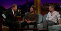 VIDEO: Bradley Cooper & Todd Phillips Visit LATE LATE SHOW