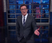 VIDEO: Stephen Colbert Questions Why Donald Trump Eats KFC With Fork & Knife & More!