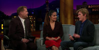 VIDEO: Salma Hayek & Denis Leary Recall Childhood Nicknames on LATE LATE SHOW