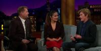VIDEO: Salma Hayek & Denis Leary Recall Childhood Nicknames on LATE LATE SHOW