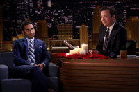 VIDEO: Aziz Ansari Talks Trump's Feud with Gold Star Military Family on TONIGHT SHOW