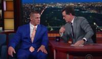 VIDEO: WWE Superstar John Cena Shares Workout Secrets with Stephen Colbert