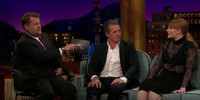 VIDEO: Hugh Grant & Bryce Dallas Howard Visit LATE LATE SHOW