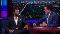 VIDEO: '50 Shades' Star Jamie Dornan Talks Newest Film on LATE SHOW