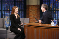 VIDEO: Grace Gummer Talks Hit Series 'Mr. Robot' on LATE NIGHT