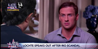 VIDEO: Ryan Lochte Comes Clean to Stephen Colbert in 'Late Show Exclusive'
