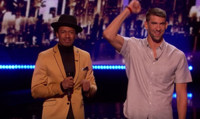 VIDEO: Michael Phelps: America's Golden Olympian Visits AMERICA'S GOT TALENT
