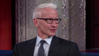 VIDEO: Anderson Cooper Talks Donald Trump's 'In Flux' Campaign on LATE SHOW