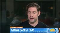 VIDEO: John Krasinski Talks New Family Film THE HOLLARS: 'People Will Relate'