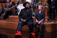 VIDEO: David Spade & Questlove Reenact Scene from 'Bachelor in Paradise'