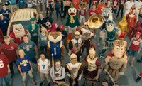 VIDEO: ESPN Kicks Off New College Football Campaign Featuring Team Mascots