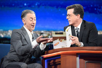 VIDEO: Alan Cumming Talks New Book, Googling Naked Castmates on LATE SHOW