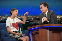 VIDEO: 'Stranger Things' Star Millie Bobby Browns Visits LATE SHOW