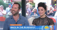 VIDEO: Jaimie Alexander & Sullivan Stapleton Talk New Season of 'Blindspot' on TODAY