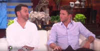 VIDEO: Jimmy Kimmel & Scott Eastwood Play Live Game of 'Who'd You Rather?' on ELLEN