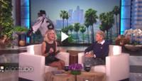 VIDEO: Carrie Underwood Gets A Celebratory Scare on ELLEN