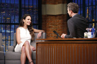 VIDEO: Jordana Brewster Talks New Series 'Lethal Weapon' on LATE NIGHT