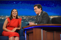 VIDEO: America Ferrera Swam Across the Ocean Before Heading to an Emmy Party!