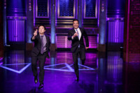 VIDEO: Ken Jeong Plays 'Turn and Face the Music' on TONIGHT SHOW
