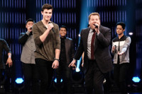 VIDEO: Shawn Mendes & James Corden Have Epic Riff-Off ft. Music from Sia, Spice Girls & More