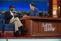 VIDEO: Morgan Freeman Talks Executive Producing Duties & More on LATE SHOW