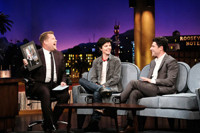 VIDEO: Tig Notaro & Max Greenfield Visit LATE LATE SHOW