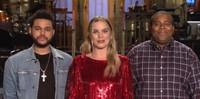 VIDEO: Host Margot Robbie Promos This Week's SNL Season Premiere