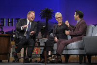 VIDEO: Jamie Lee Curtis & James Corden Defend Kim Kardashian on LATE LATE SHOW