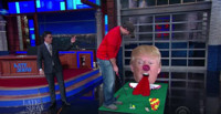 VIDEO: Golfer David Johnson Takes the Trump Mini-Golf Challenge on LATE SHOW