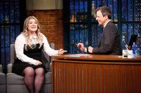 VIDEO: Kelly Clarkson Talks End of 'Idol', New Children's Book on LATE NIGHT