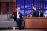 VIDEO: Senator Al Franken Talks Early Encounters with Donald Trump on LATE NIGHT