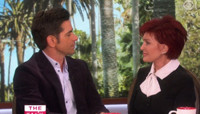 VIDEO: John Stamos Asks Sharon Osbourne About Reuniting with Ozzy: 'You're very inspirational'